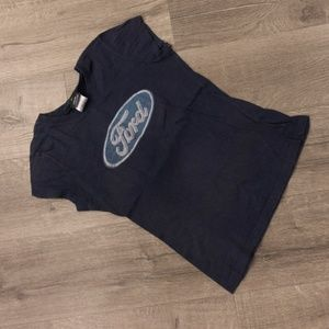 Navy blue Ford t-shirt